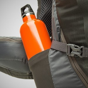 Water Bottle in Backpack