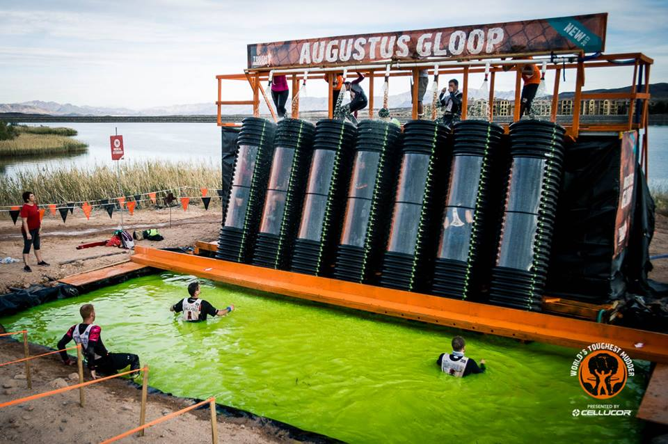 World's Toughest Mudder Augustus Gloop
