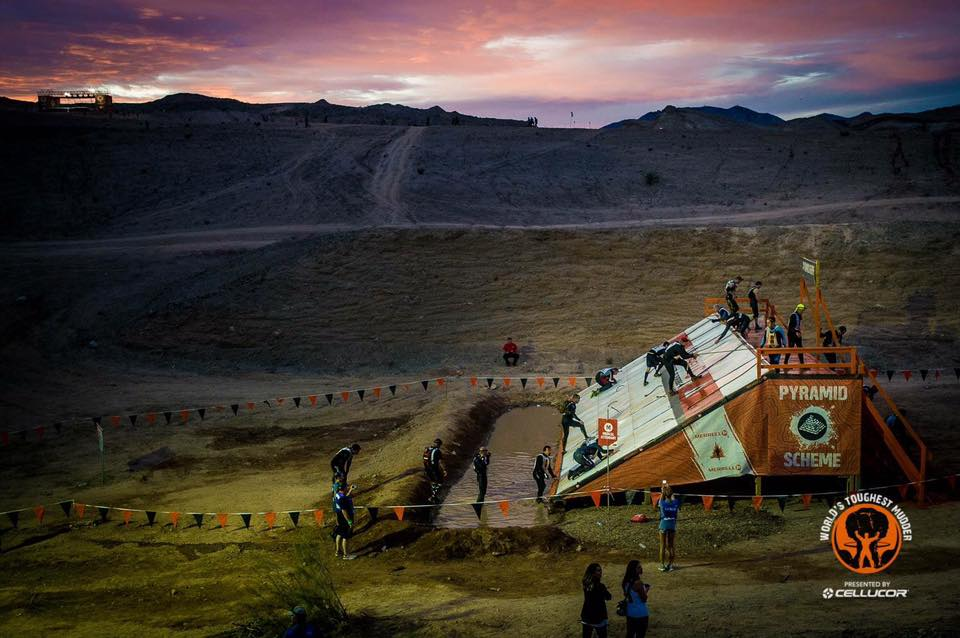 World's Toughest Mudder Pyramid Scheme
