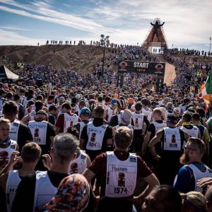 World's Toughest Mudder Starting Line