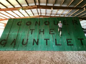 Conquer The Gauntlet Slip Wall
